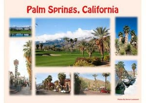 Palm Springs Souvenir Mats