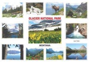 Glacier Souvenir Mats