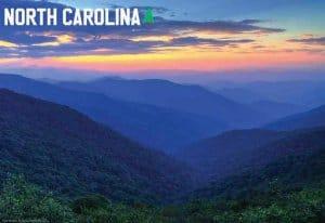North Carolina Souvenir Mats