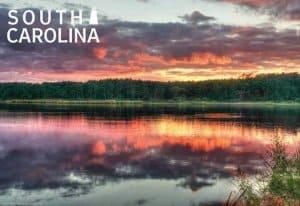 South Carolina Souvenir Mats