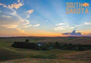 South Dakota Souvenir Mats